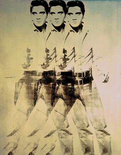 «Восемь Элвисов», Энди Уорхол