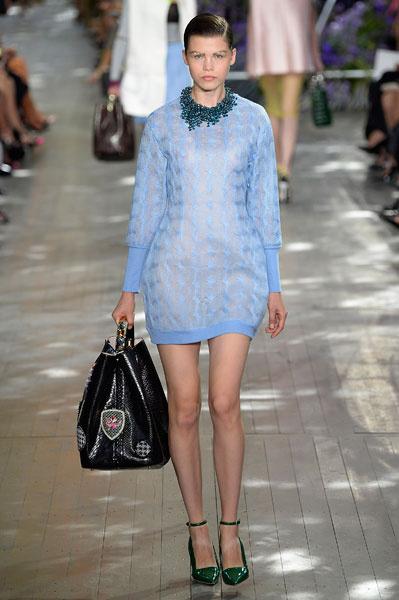 Dior весна-лето 2014