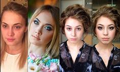 Эффектное преображение: 20 женщин до и после макияжа. Фото