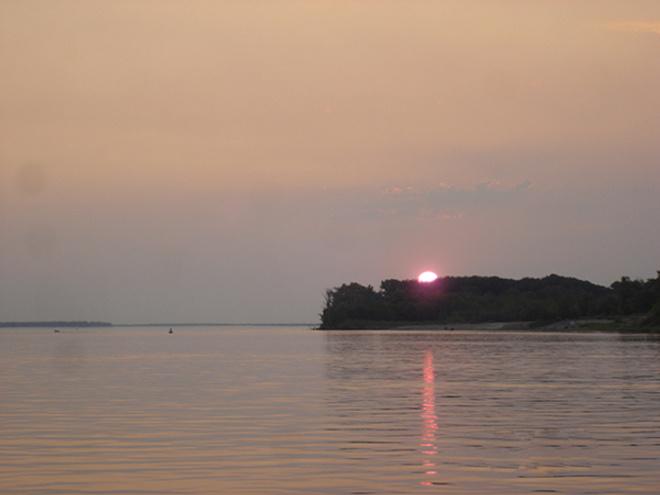 Закат, рассвет