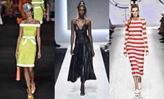 Геометрия, кружево и голые плечи: модные тенденции весны 2016
