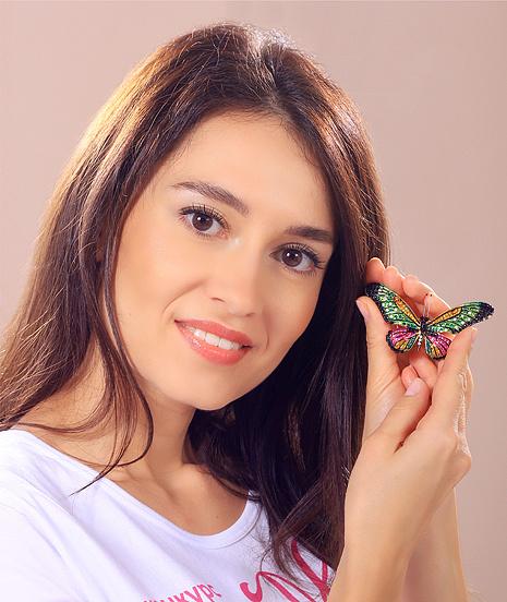 Мария Костарева, участница конкурса «Мисс Мегаполис», фото