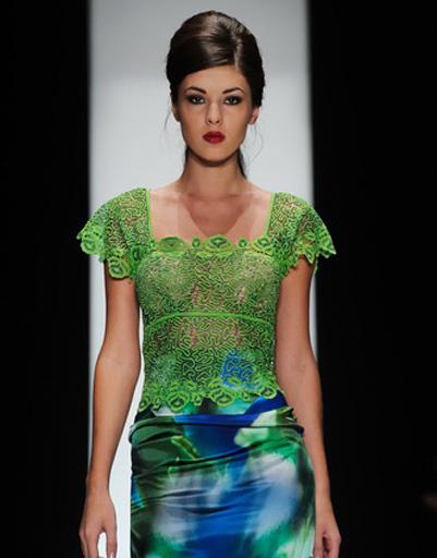 Mercedes-Benz Fashion Week: Nikolay Krasnikov, весна-лето 2012