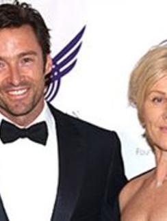 Хью Джекман (Hugh Jackman) и его жена