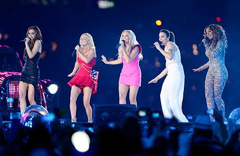 Выступление Spice Girls на закрытии Олимпиады