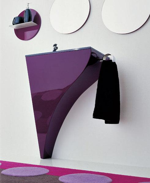Система хранения Happy со встроенной раковиной, Novello, www.novello.it, салон Tendenza.