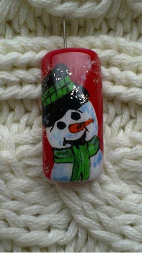фото ногтевого дизайна на Новый год