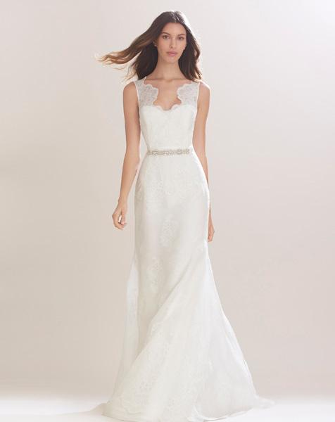 Свадебное платье от каролина херрера