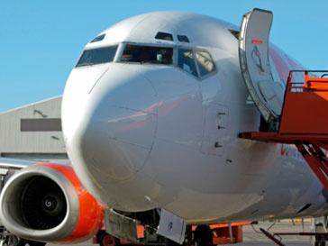 Самолет американской авиакомпании совершил вынужденную посадку