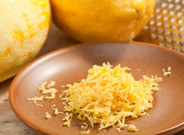 Блюда с лимонной цедрой: видео рецепты