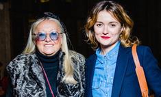 Надя Михалкова и другие звезды на показе Viva Vox