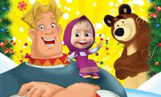 Маша, Медведь и три богатыря в «Крокусе»!