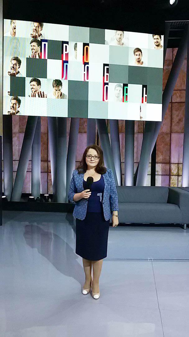 Ангарчанка приняла участия в ток шоу Про любовь