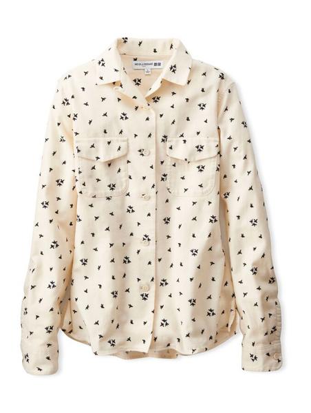 Рубашка Ines de la Fressange Paris – Uniqlo осень-2015