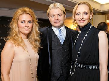 Наталья Шкулева, Андрис Лиепа и Илзе Лиепа