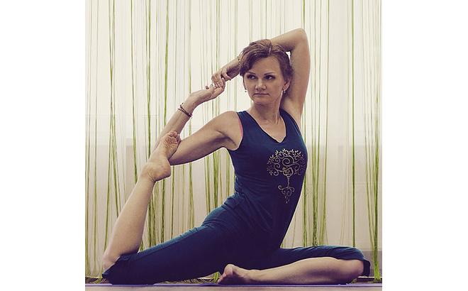 Ольга Калинина, тренер по йоге, фото