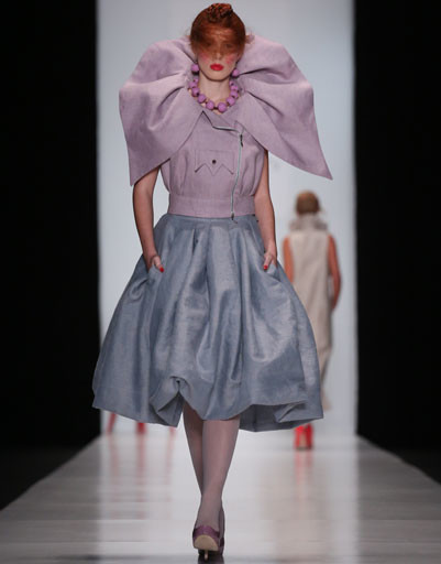 Mercedes-Benz Fashion Week Russia: коллекция YeZ by YEGORZAITSEV весна-лето 2013