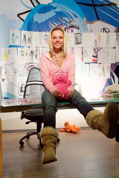 МАША ЦИГАЛЬ дизайнер. «Я строю взрослую жизнь так, чтобы в ней осталось место для маленькой девочки».
