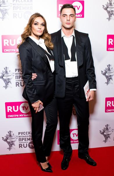 Алена Водонаева с женихом на RU.TV-2016