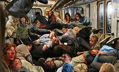О московском метро сняли фильм-катастрофу