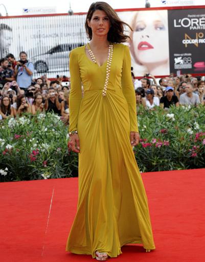 Мариса Томей (Marisa Tomei) на открытии 68-го Венецианского кинофестиваля
