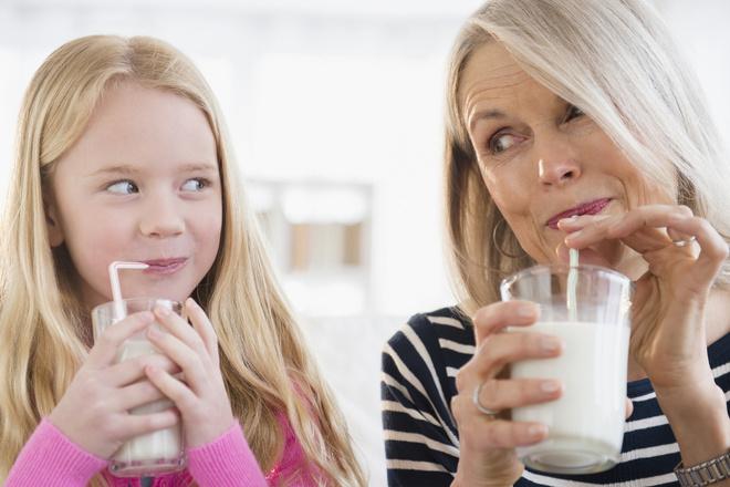 в какое время суток лучше пить молоко