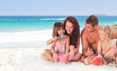 Типы кожи: как уберечь ребенка от солнца?