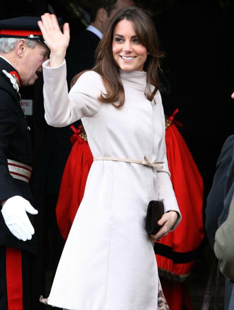Кейт Миддлтон в пальто Max Mara