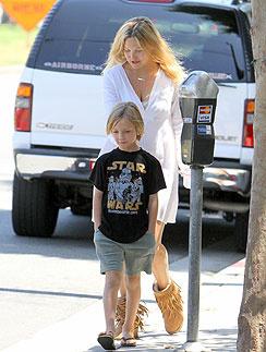 Кейт Хадсон (Kate Hudson) со старшим сыном