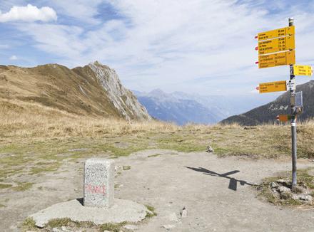 Граница Фарнции и Швейцарии