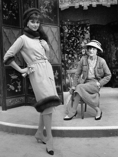 Коко Шанель, 1958 год