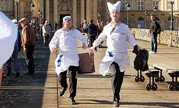 Сериал «Кухня»: кондитер Луи