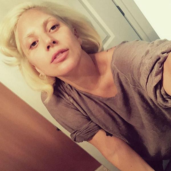 Lady Gaga без макияжа