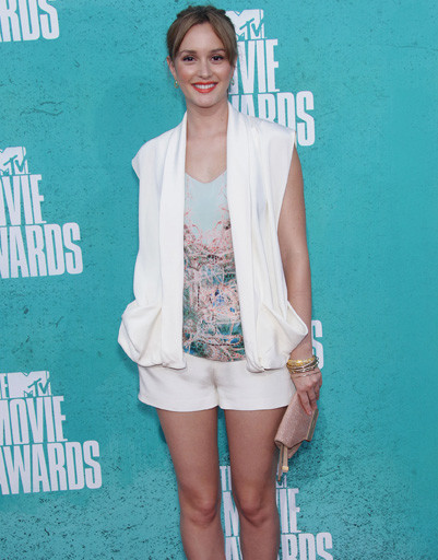 Лейтон Мистер (Leighton Meester) на MTV Music Awards 2012