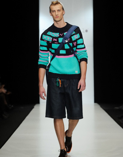 Mercedes-Benz Fashion Week: Frankie Morello, весна-лето 2012