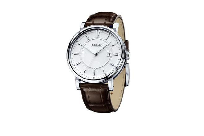 Серебряные часы Sokolov, 26 400 р.