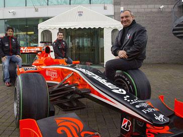 Николай Фоменко и Marussia