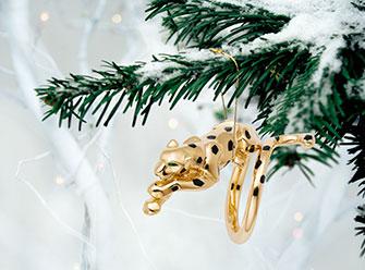 Кольцо из желтого золота «Пантера», коллекция Cartier