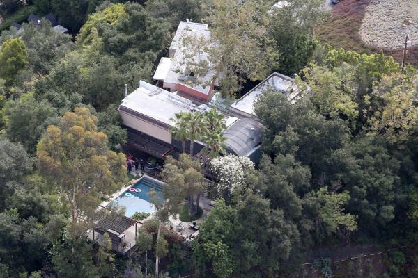 Дом Деми Мур в Беверли-Хиллз