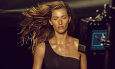 Жизель Бюндхен опубликовала тизер ролика для H&M