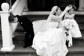 Свадебное фото Amy Deputy.