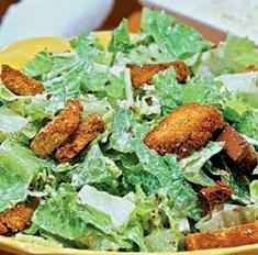 Постный «Цезарь» и еще 5 оригинальных рецептов