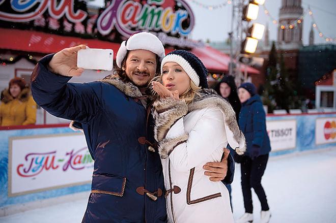 Ирина Гринева и Максим Шабалин фото