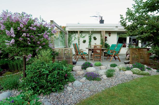Дизайн маленького сада фото