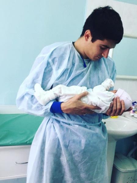 Артур Малоян стал отцом
