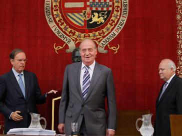 Хуан Карлос I (Juan Carlos I) на торжественной церемонии в Мадриде