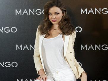 Миранда Керр (Miranda Kerr) на фотоколле Mango