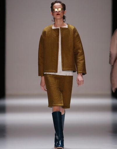 Показ коллекции Юлии Николаевой осень-зима 2013/14 Mercedes-Benz Fashion Week Russia