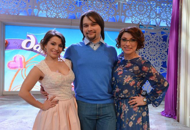 Ксения, Денис и Роза Сябитовы фото