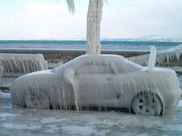 Последствия ледяного дождя в 2010 году